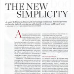 Psychologies New Simplicity May 12-1