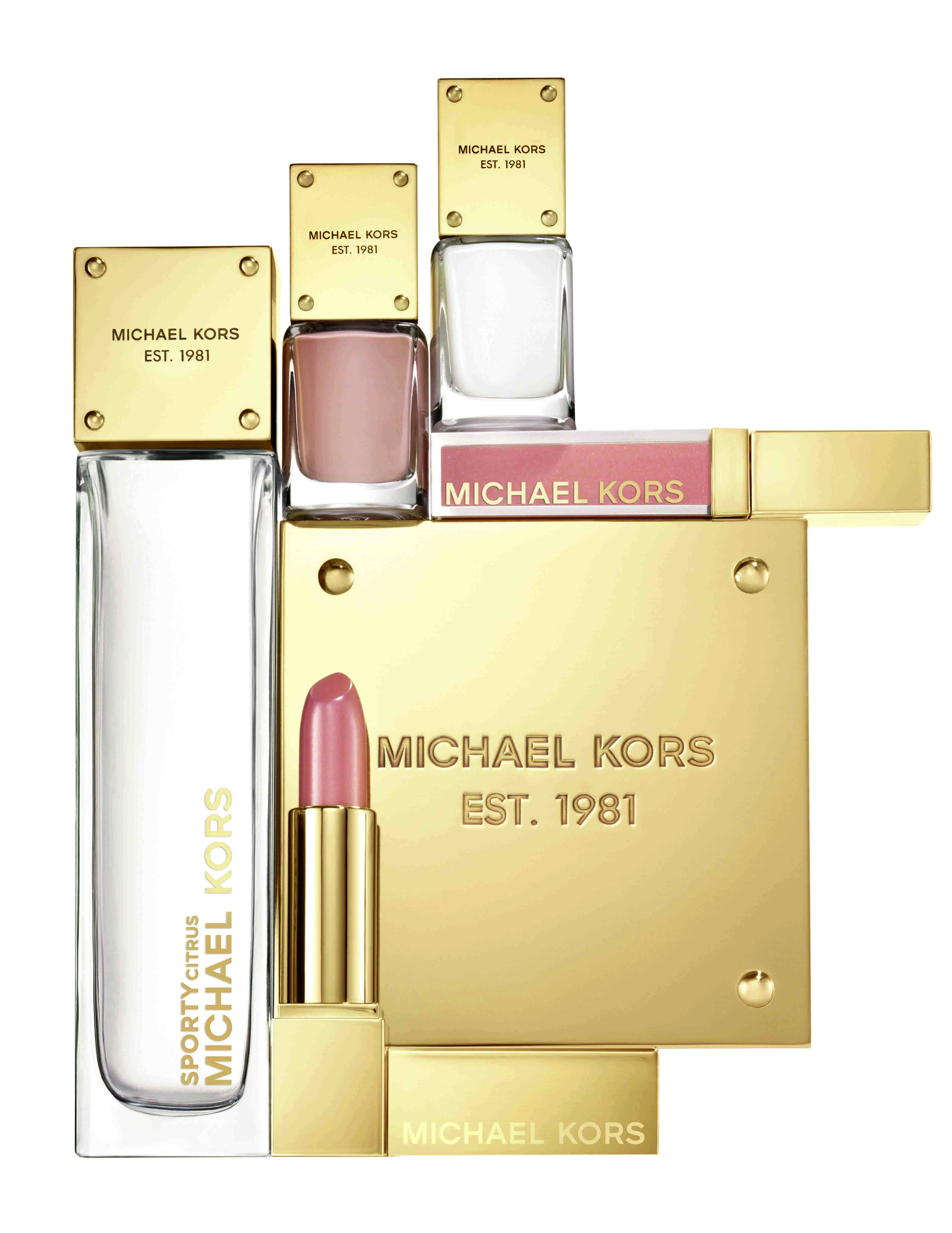Look expensive & chic with Michael Kors make-up